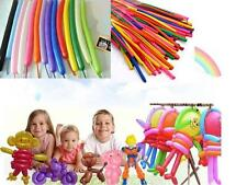 100pcs X New Balloons Different Colours Latex 260Q Traditional Modelling