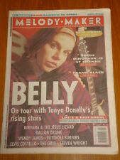 MELODY MAKER 1993 MAR 6 ELVIS COSTELLO NIRVANA THE GRID
