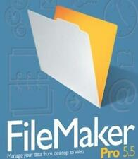 FileMaker 5.5 Pro + Manual PC CD manage company database data management system