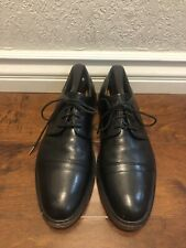 Coach Mens Shoes Oxford Balck Leather Shoes Sz 9.5 D US