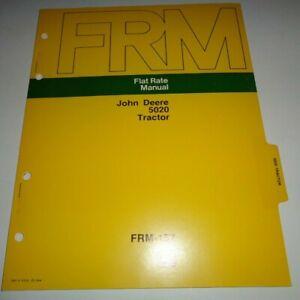 John Deere 5020 Tractor Flat Rate Repair Time Manual JD 8/73 Original!
