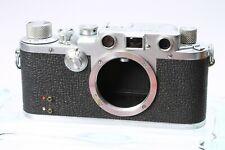 LEICA LEITZ IIIc 35MM FILM RANGEFINDER CAMERA BODY No. 515054 W/ FLASH SYNC