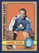 1972-73 O-Pee-Chee JACQUES PLANTE #92 Nmmt/Mint Maple LEAFS (HOF) !!