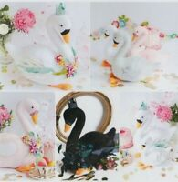 PATTERN - Swan Party - cute softie/toy or decoration PATTERN - Ric Rac