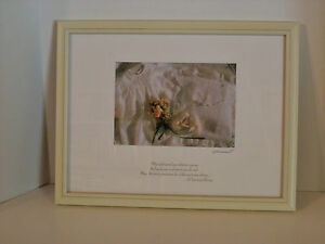Irish Christening Blessing baptism framed picture Ireland baby gift Christian