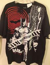 BATMAN THE DARK KNIGHT RISES BLACK T-SHIRT. SIZE XL