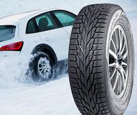 225 60 17 Nokian New HAKKAPELIITTA R2 SUV Snow Winter Tires Set of 4 225/60R17