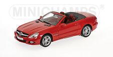 Mercedes Benz SL65 Class 2009 Red 100037530 1/18 Minichamps
