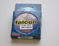 New Mason Falcon Monofilament Fishing Line 8lb 100 yards Spinning Casting