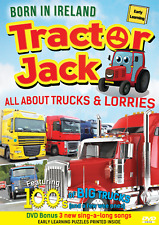 Tractor Jack (All About Trucks & Lorries) (DVD) (2017) (Kids) (Learning)