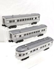 Set Of 3 Lionel Trains Postwar Illuminated Passenger Cars O Scale