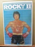 Rocky II the movie vintage  Poster 1979 Stallone Inv#2993