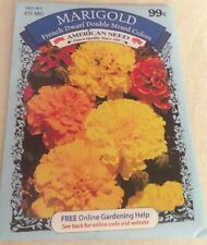 """Marigold� Seeds Gardening Planting French Dwarf Double Mix Color American Seed"