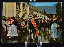 Postcard Merano Corteo Folcloristico Italy Posted 1974