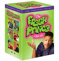 The Fresh Prince of the Bel Air Complete Series Seasons 1-6 DVD Gift Box Set New