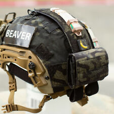 Beaver Tactical NVG Counterweight / Go Pro Battery Helmet Pouch (Multicam Black)