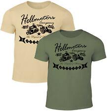 Biker Herren T-Shirt Legend History Hollister Chopper Oldschool Rebel Hotrod V8