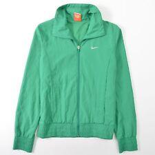 Nike Athletic Dept Green Vented Jacket Full Zip Warm Up Windbreaker M 8-10
