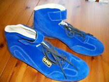 FIA Approved OMP Shoes, size 43 Blue