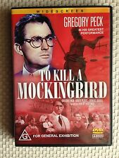 TO KILL A MOCKINGBIRD ~ GREGORY PECK, BROCK PETERS, ROBERT DUVALL ~ AS NEW DVD