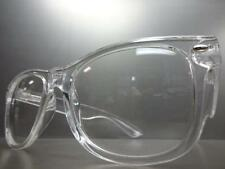 CLASSIC VINTAGE RETRO Style NERD GEEK SMART Clear Lens Transparent EYE GLASSES
