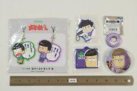 Anime Osomatsu San Metal Badge Pin Button 7-11 Acrylic Strap Ita Bag