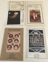 VINTAGE LOT OF 4 CHRISTMAS Tole Painting PATTERNS COUNTRY FOLK ART CALENDAR