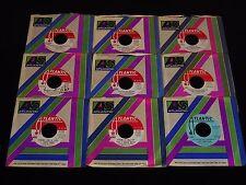 J. Geils Band-Lot of 9 ORIGINAL PROMO Singles,1970-1976-CLEAN!