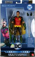 """DC Multiverse ~ 6"""" RED ROBIN (TIM DRAKE)(SERIES 12) ACTION FIGURE ~ Mattel"""