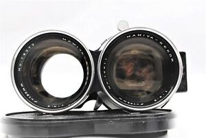 [Exc+4 CLA'd] Mamiya Sekor 135mm f/4.5 TLR Lens for C330 C220 C33 C22 From JAPAN