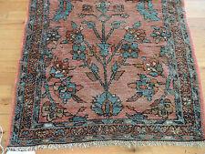 "Antique 3x5 Persian Hamadan wool Oriental Area Rug ""Ralph Lauren style"" purple"