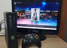 xbox 360 slim 500gb 85 GIOCHI console 1controller JTAG 3.0 aurora fifa19 gta 5