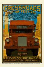 2013 CHUCK SPERRY CROSSROADS FESTIVAL POSTER Signed /Number 118/1000 CLAPTON