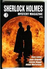 SHERLOCK HOLMES MYSTERY MAG #5, 2015, rare US crime trade pb, Gary Lovisi