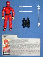 1987 JINX v.1 GI/G.I. Joe Ninja / Intelligence 100% complete w/FC file card JTC
