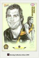 2007 AFL Champions Superstar Gem Card GC12 Matthew Richardson (Richmond) Rare!