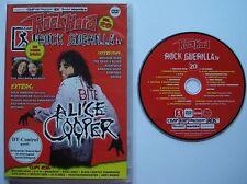 ROCK GUERILLA TV DVD VOL. 20 _ Alice Cooper _ Machine Head _ Iced Earth _ D-A-D