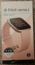 🆕️Fitbit Versa 2 Smartwatch‼➖2️⃣0️⃣1️⃣9️⃣➖Retail $199⚡Rose⚡24/7 Heart Tracking⚡
