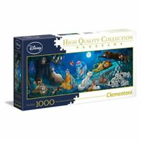 DISNEY Clementoni Panorama Sweet Nights 1000 Piece High Quality Jigsaw Puzzle