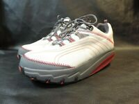 MBT Footwear Chapa Dawn Shoes Womens Size 10 Beige Red Comfort Walking Toning