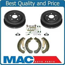 Fits For 00-03 L LS LS1 LW (2) Rear Brake Drums and Shoes Wheel Cly Springs
