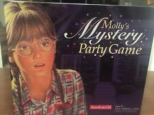 American Girl Molly's Mystery Party Board Game. EUC retails for $16.95