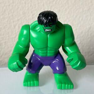 Lego 76018 Marvel Superheroes Lab Smash Green Hulk Minifig Minifigure Rare HTF