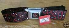 Deadpool Wade Winston Wilson Buckle-Down Belt Marvel Comics ADJUSTABLE LOGOS