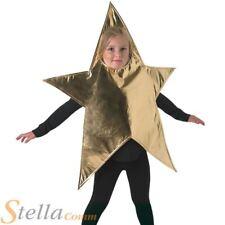 Christmas Star Kids Fancy Dress Nativity Play Boys Girls Childs Costume Outfit