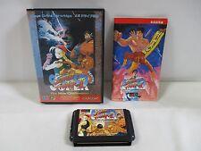 Mega-Drive Genesis -- Super Street Fighters 2 -- Box. JAPAN Game Sega. 14219