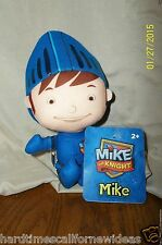 """Fisher Price MIKE THE KNIGHT  PLUSH 9"""" Plush Doll Toy Figure With Tag"""