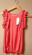 River Island Coral Sleeveless Top