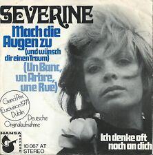 """Severine """"Mach die augen zu"""" Eurovision Monaco 1971 German version"""
