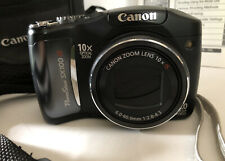 Canon PowerShot SX100 IS 8.0MP 10x Super Zoom Digital Camera - Black  Used